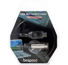 BESPECO BMUSB200 Cavo interfaccia USB - XLR
