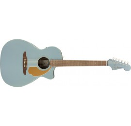 FENDER Newporter Player WN IBS - CHITARRA ACUSTICA ELETTRIFICATA ICE BLUE SATIN