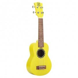 OQAN Quk Wailele Yellow - Ukulele Soprano Giallo