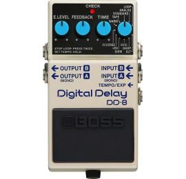 BOSS DD-8 Digital Delay - EFFETTO DELAY DIGITALE/LOOPER A PEDALE PER CHITARRA