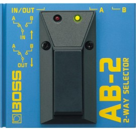BOSS AB 2 - PEDALE SELETTORE A 2 VIE