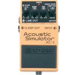 BOSS AC 3 Acoustic Simulator - EFFETTO SIMULATORE DI CHITARRE ACUSTICHE