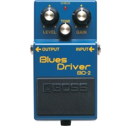 BOSS BD 2 Blues Driver Overdrive - EFFETTO OVERDRIVE A PEDALE PER CHITARRA