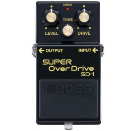 BOSS SD1 4A Anniversary Limited Edition - EFFETTO OVERDRIVE A PEDALE PER CHITARRA