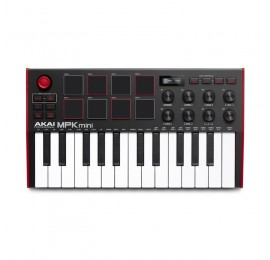 AKAI MPK Mini Mk3 - MASTER KEYBOARD MIDI USB 25 TASTI MINI