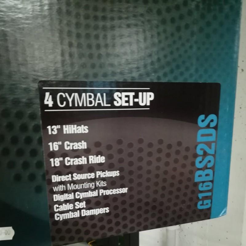 ZILDJIAN GEN16 Pack 13 / 16 / 18 Electronic Cymbal Set